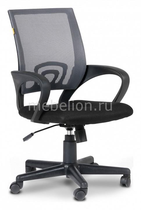 Кресло компьютерное Chairman 696 серый/черный  журнальный столик сундук