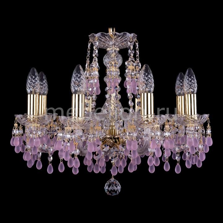 Подвесная люстра Bohemia Ivele Crystal 1410/8/160/G/7010 1410