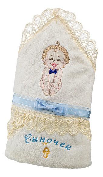 Полотенце детское АРТИ-М (70х70 см) Сыночек полотенце для кухни арти м пасхальные традиции
