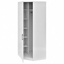Шкаф платяной угловой Амели СМ-193.07.006 L белый глянец