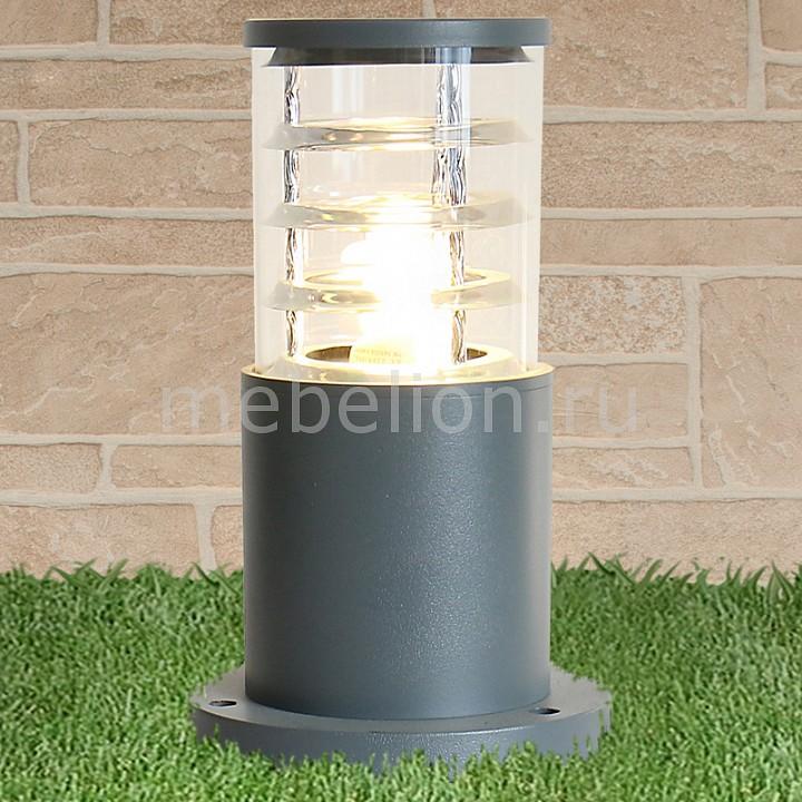 Наземный низкий светильник Elektrostandard 1508 TECHNO silver серый декоративная решетка techno для конвектора 250х1800 рра 250 1800 с