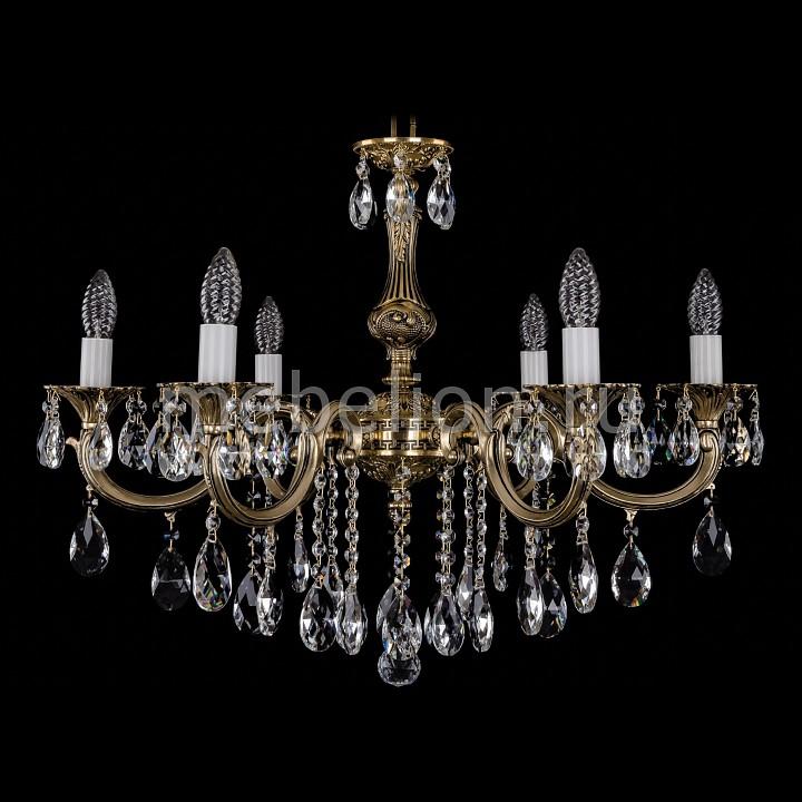 Подвесная люстра Bohemia Ivele Crystal 1702/6/B/GB 1702