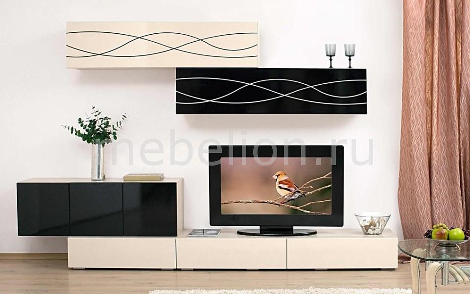 Стенка для гостиной Сильва Стенка-горка Лиана НМ 013.46 стенка модерн 3