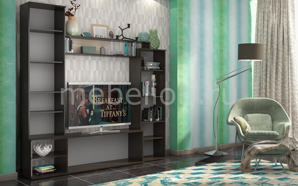Стенка для гостиной Столлайн Стенка-горка Абель СТЛ.224.00 столлайн тумба комбинированная гриф ма 364 дуб феррара клен венге