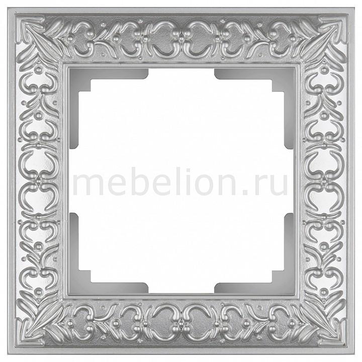 Рамка на 1 пост Werkel Antik WL07-Frame-01 werkel рамка antik на 1 пост бронза werkel wl07 frame 01 4690389054358