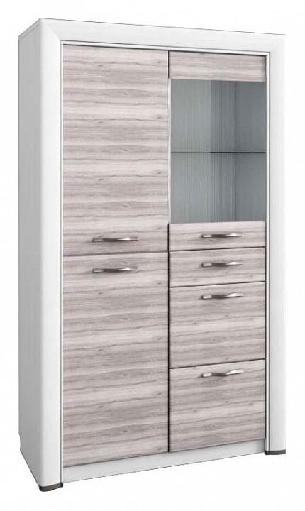 Шкаф-витрина Olivia 1V2D3S