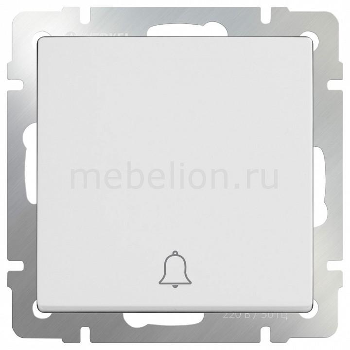 Кнопка звонка без рамки Белый WL01-04-01