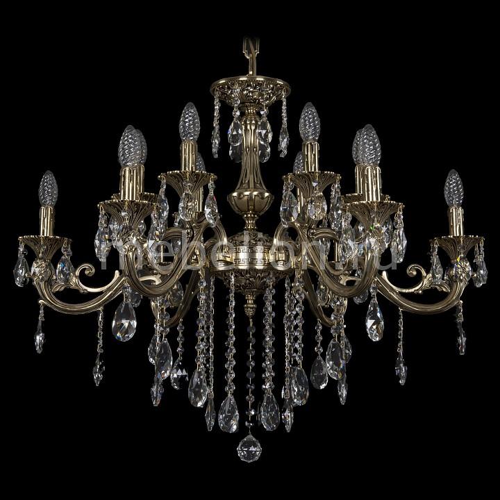 Подвесная люстра Bohemia Ivele Crystal 1703/12/320/B/GB 1703