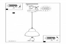 Подвесной светильник Eglo 49235 Truro