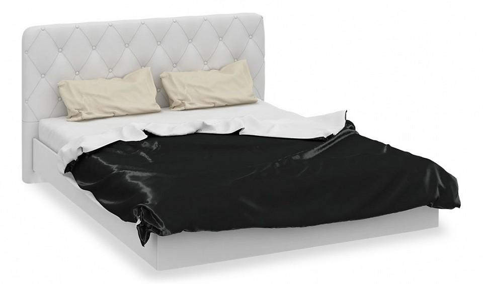 Кровать двуспальная Амели СМ-193.01.003-М