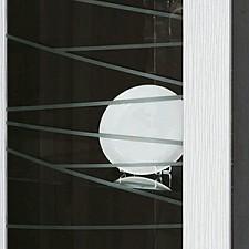 Шкаф-витрина Алабама 06.110 дуб кантербери/белый дым