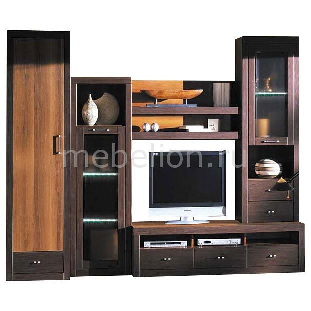 Стенка для гостиной Мебель Трия Стенка-горка Терра стенка для гостиной мебель трия прованс