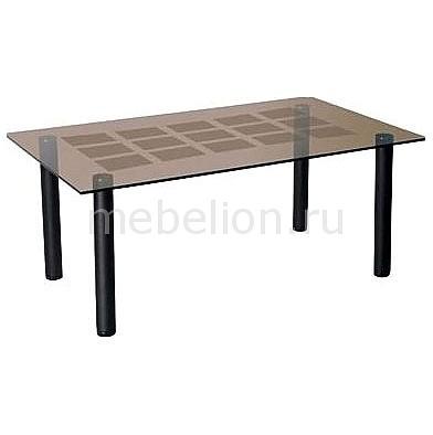 Стол журнальный Мебелик Робер 11М черный
