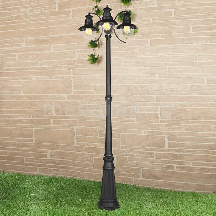 Купить Фонарный столб Talli F/3 GL 3002F/3 черный, Elektrostandard, Россия