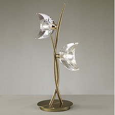 Настольная лампа Mantra 1480 Eclipse Antique Brass