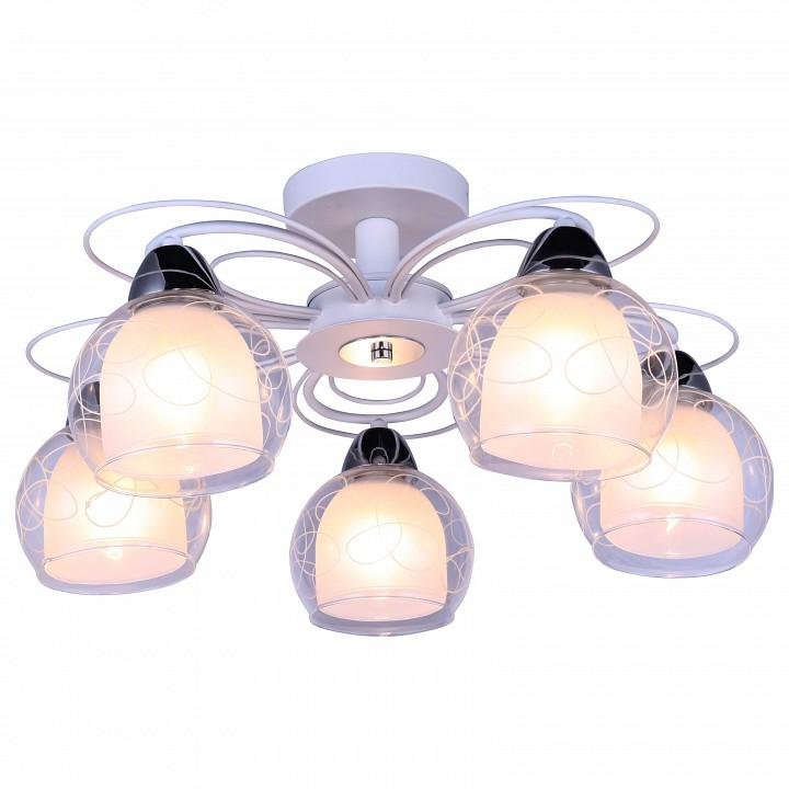 Люстра на штанге Arte Lamp 7585 A7585PL-5WH масляная живопись yue hao yh0334 7585