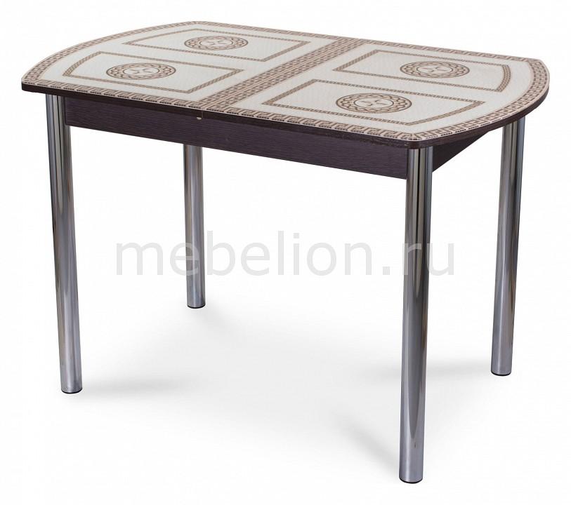 Стол обеденный Домотека Гамма ПО-1 со стеклом