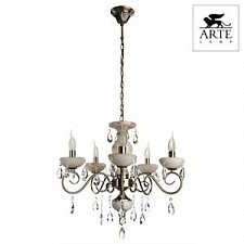 Подвесная люстра Arte Lamp A9591LM-5AB Onyx