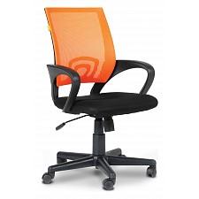Кресло компьютерное Chairman 696 оранжевый/черный