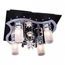 Накладной светильник Eurosvet 4940/4+1 чёрный/синий+красный+фиолетовый