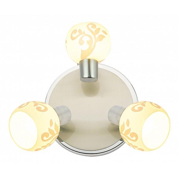 Спот SilverLightFlora 307.37.3Артикул - SL_307.37.3,Бренд - SilverLight (Франция),Серия - Flora,Гарантия, месяцы - 24,Рекомендуемые помещения - Гостиная, Кабинет, Коридор, Прихожая, Спальня,Выступ, мм - 130,Диаметр, мм - 230,Цвет плафонов и подвесок - белый с рисунком,Цвет арматуры - хром,Тип поверхности плафонов и подвесок - матовый,Тип поверхности арматуры - матовый,Материал плафонов и подвесок - стекло,Материал арматуры - металл,Лампы - компактная люминесцентная [КЛЛ] ИЛИнакаливания ИЛИсветодиодная [LED],цоколь E14; 220 В; 40 Вт,,Класс электробезопасности - I,Общая мощность, Вт - 120,Лампы в комплекте - отсутствуют,Общее кол-во ламп - 3,Количество плафонов - 3,Возможность подключения диммера - можно, если установить лампу накаливания,Степень пылевлагозащиты, IP - 20,Диапазон рабочих температур - комнатная температура,Дополнительные параметры - способ крепления светильника на потолке и стене - на монтажной пластине, поворотный светильник<br><br>Артикул: SL_307.37.3<br>Бренд: SilverLight (Франция)<br>Серия: Flora<br>Гарантия, месяцы: 24<br>Рекомендуемые помещения: Гостиная, Кабинет, Коридор, Прихожая, Спальня<br>Выступ, мм: 130<br>Диаметр, мм: 230<br>Цвет плафонов и подвесок: белый с рисунком<br>Цвет арматуры: хром<br>Тип поверхности плафонов и подвесок: матовый<br>Тип поверхности арматуры: матовый<br>Материал плафонов и подвесок: стекло<br>Материал арматуры: металл<br>Лампы: компактная люминесцентная [КЛЛ] ИЛИ&lt;br&gt;накаливания ИЛИ&lt;br&gt;светодиодная [LED],цоколь E14; 220 В; 40 Вт,<br>Класс электробезопасности: I<br>Общая мощность, Вт: 120<br>Лампы в комплекте: отсутствуют<br>Общее кол-во ламп: 3<br>Количество плафонов: 3<br>Возможность подключения диммера: можно, если установить лампу накаливания<br>Степень пылевлагозащиты, IP: 20<br>Диапазон рабочих температур: комнатная температура<br>Дополнительные параметры: способ крепления светильника на потолке и стене - на монтажной пластине, &lt;br&gt;поворотный светильник