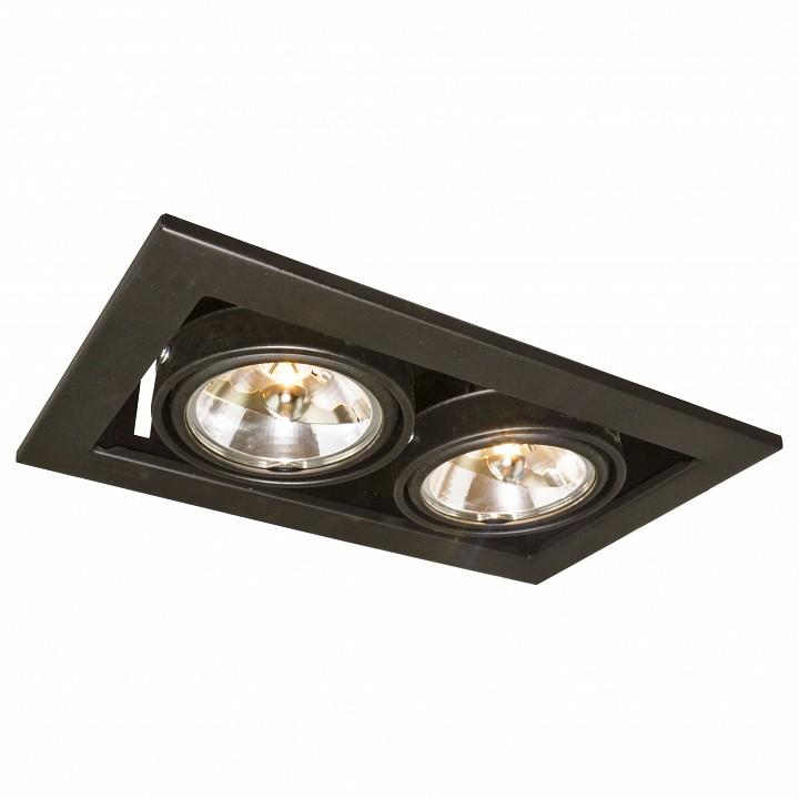 Встраиваемый светильник Arte Lamp A5930PL-2BK Technika 2