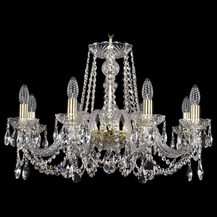 Подвесная люстра Bohemia Ivele Crystal 1402/8/240/G 1402