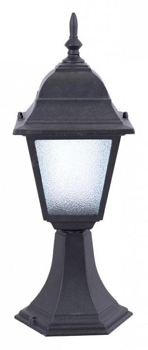 Наземный низкий светильник Arte Lamp Bremen A1014FN-1BK наземный уличный светильник arte lamp bremen a1014fn 1wh
