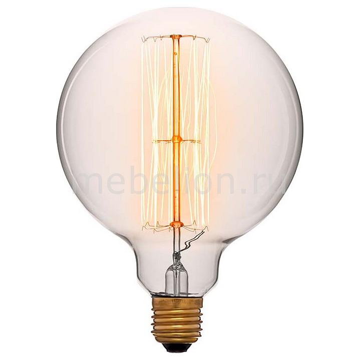 Лампа накаливания Sun Lumen G125 E27 240В 60Вт 2200K 052-313a