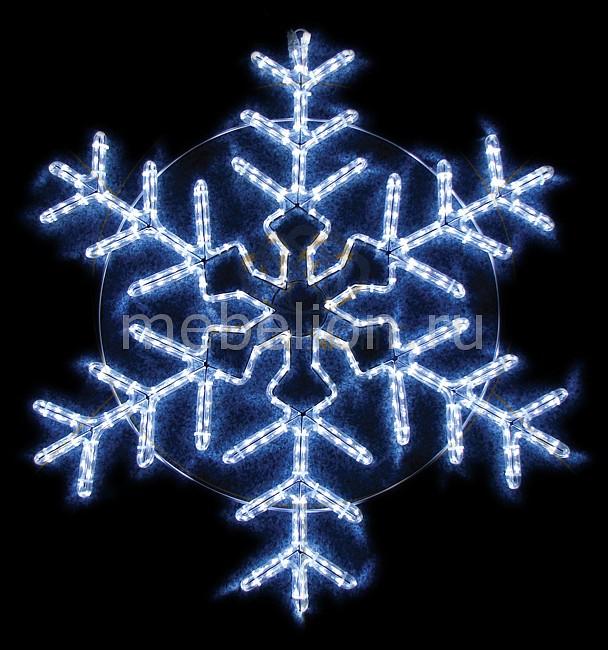 Панно световое Neon-Night (95x95 см) Снежинка NN-501 501-338 фигура акриловая светодиодная neon night мухомор 120 led с понижающим трансформатором 35 х 35 см