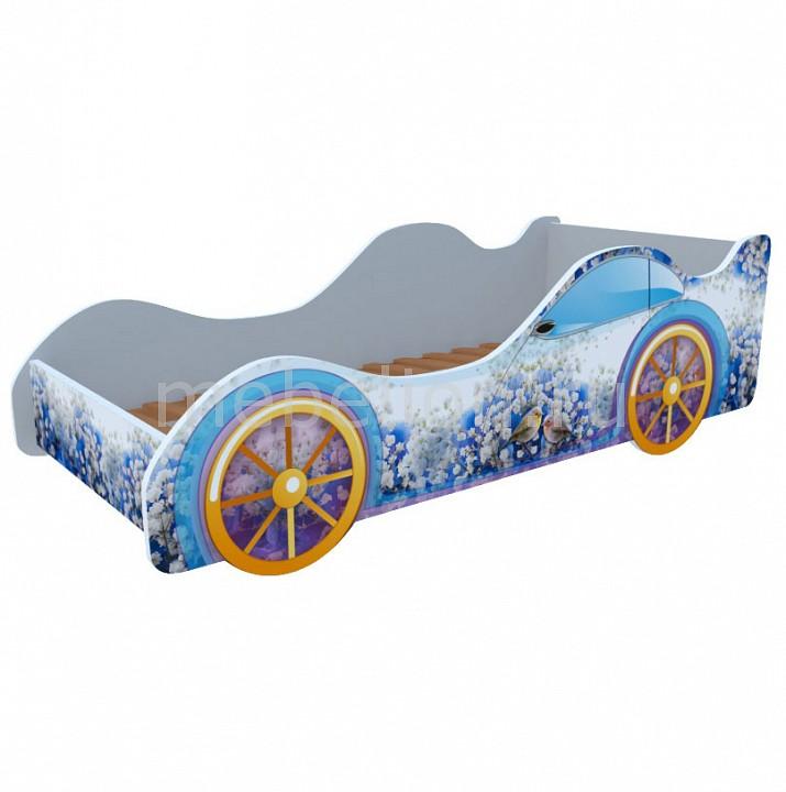 Кровать-машина Кровати-машины Зяблики M036 chigu голубой с синим 42 мм
