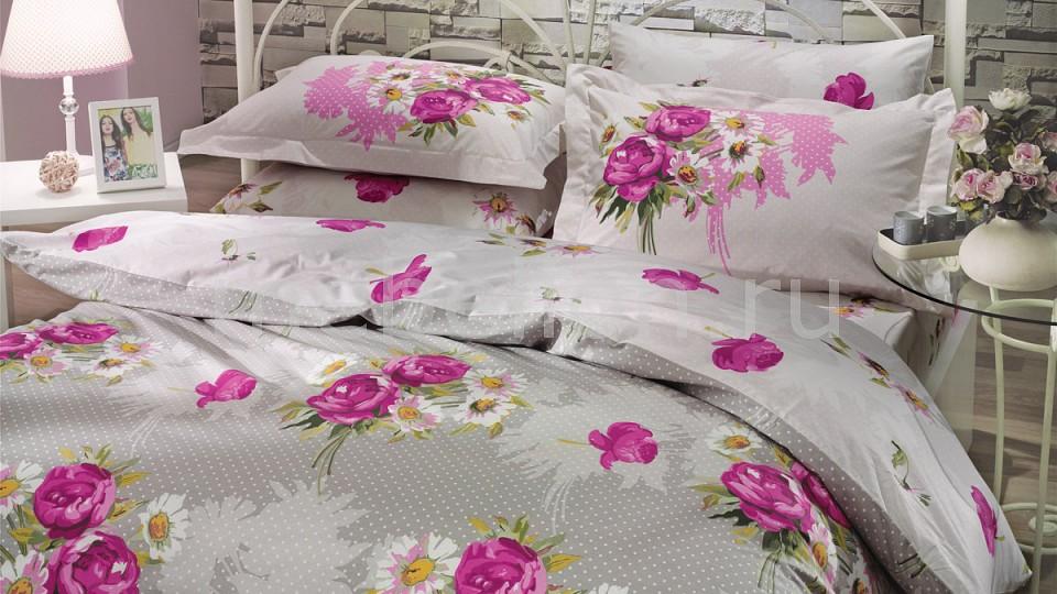 Комплект полутораспальный HOBBY Home Collection CALVINA тапочки женские твое цвет светло серый a3943 b823 размер 35 36