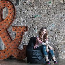 Кресло-мешок Фьюжн черное I