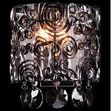Накладной светильник Eurosvet 3400/2 хром/дымчатый хрусталь Strotskis 3400