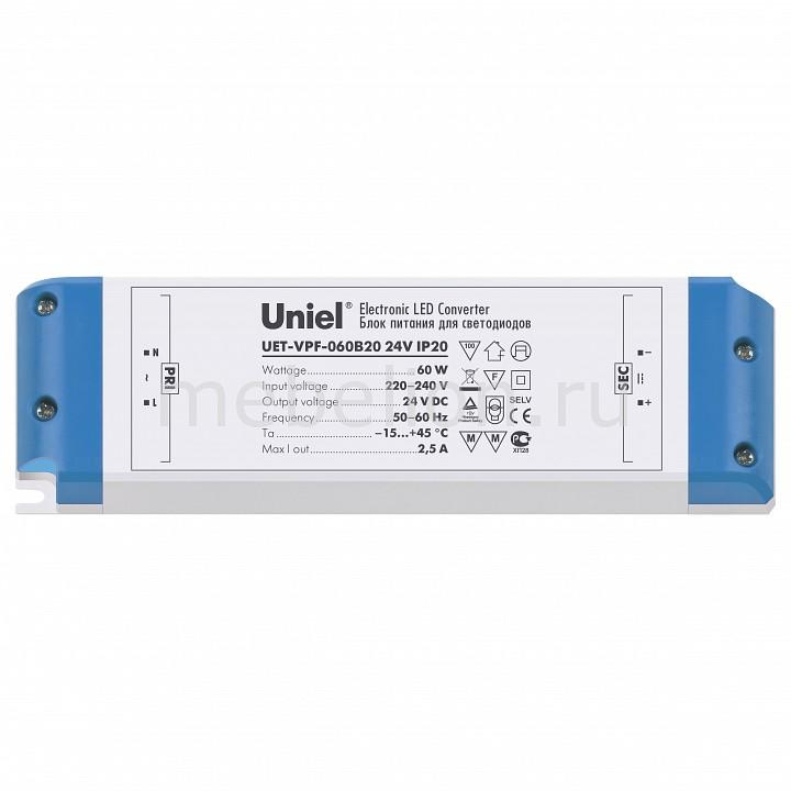 Фото - Блок питания Uniel UET-VPF-060B20 05833 блок питания для светодиодов uniel 10589 100w 4ма ip67 uet vaj 100b67