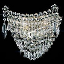 Накладной светильник Preciosa Brilliant 25 1053 002 04 00 01 35 бисер прозрачный с цв центром и покрытием 10 0 38695 круг отв 50гр preciosa