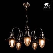 Подвесная люстра Arte Lamp A5518LM-5AB Fisherman