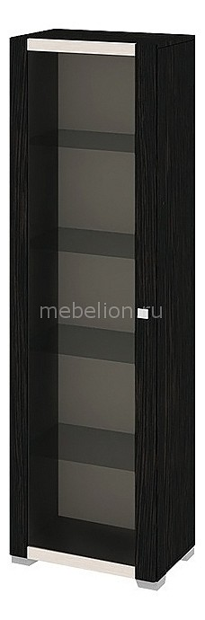 Шкаф-витрина Фиджи Ш1д(09)_34_18 венге цаво/дуб белфорт