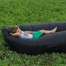 Лежак надувной Airpuf Черный