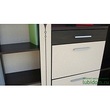 Шкаф платяной 119120 Адель 12 шкаф 1000 луино