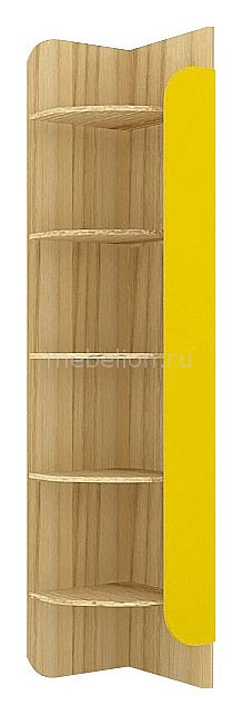 Стеллаж Джинс 507.060 сантана/желтый бриллиант