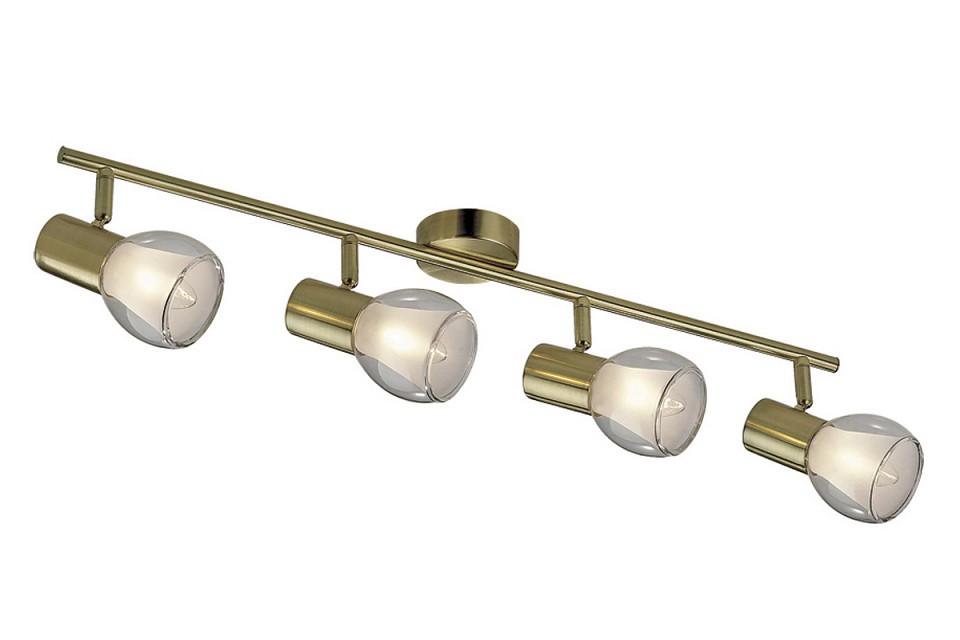 Спот Odeon Light Moss 2176/4W настенно потолочный светильник спот коллекция moss 2176 1w золото прозрачный odeon light одеон лайт