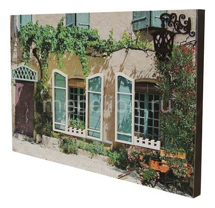 Панно Акита (60х40 см) Южный дворик 9790 веселый дворик машинка