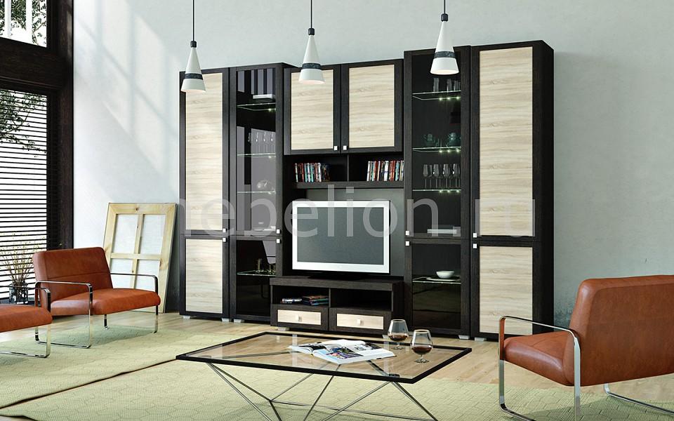 Стенка для гостиной Мебель Трия Фиджи ГН-153.002 мебель трия тетрис гн 154 003