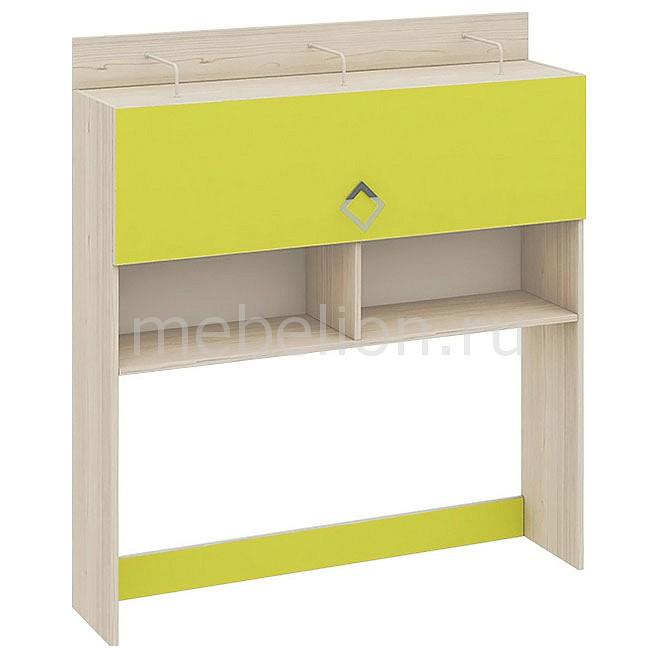 Надстройка для стола Мебель Трия Аватар СМ-201.09.001 каттхилт/лайм