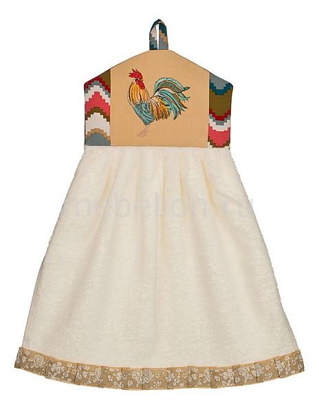 Полотенце для кухни АРТИ-М Петух - волна статуэтка арти м 37 см дама 50 029