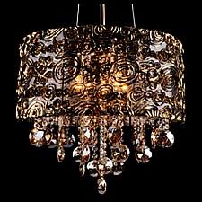 Подвесной светильник Eurosvet 3400/5 золото/тонированный хрусталь Strotskis 3400
