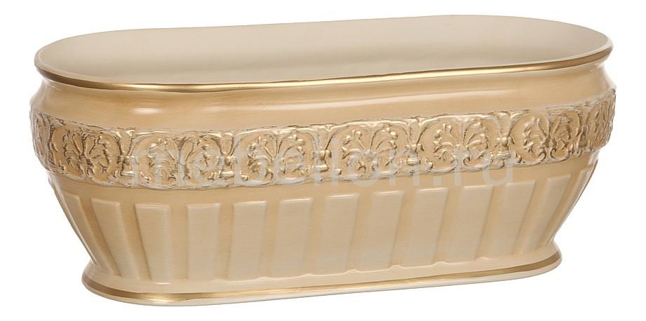 Купить Чаша декоративная (43х20х17 см) Кретенс 742-184, АРТИ-М, Россия, персиковый, глина белая