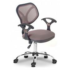 Кресло компьютерное Chairman 380 серый/хром, черный