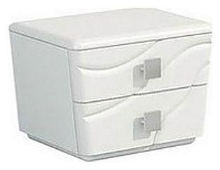 Тумбочка прикроватная Милана МН-119-02 белый mebelion.ru 5664.000